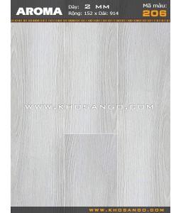 Sàn nhựa vân gỗ Aroma 206
