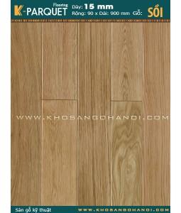 Sàn gỗ kỹ thuật Sồi
