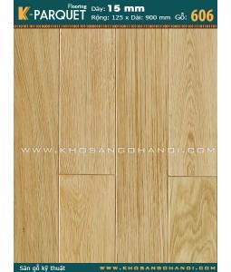 Sàn gỗ kỹ thuật Sồi 606