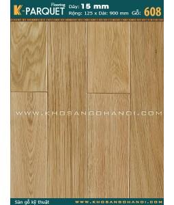 Sàn gỗ kỹ thuật Sồi 608