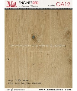Sàn gỗ 3K Engineered OA12