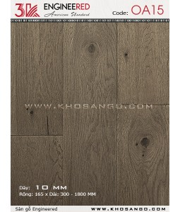 Sàn gỗ 3K Engineered OA15