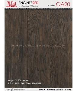 Sàn gỗ 3K Engineered OA20