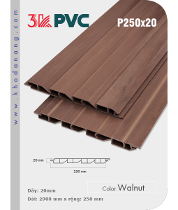 3K Pvc Decor P250x20 Walnut