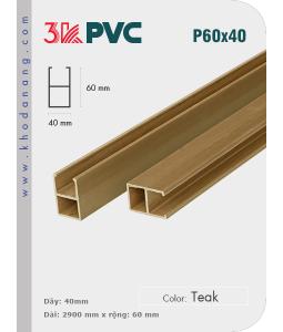 3K Pvc Decor P60x40 Teak
