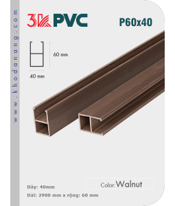 3K Pvc Decor P60x40 Walnut