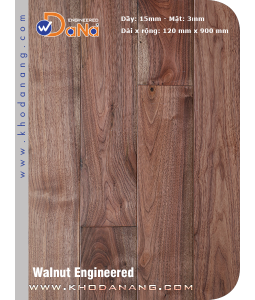 Walnut Dana Engineered