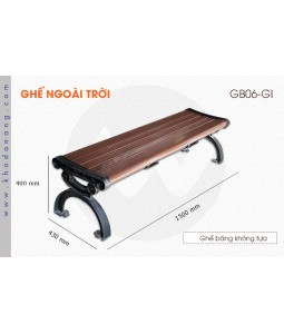 Ghế ngoài trời GB06-GI