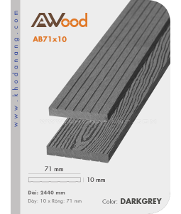 AWood AB71x10 Darkgrey