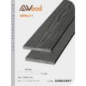 Sàn gỗ Awood AB96x11-darkgrey