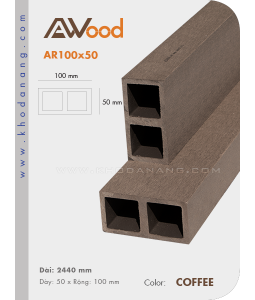 AWood AR100x50 Coffee