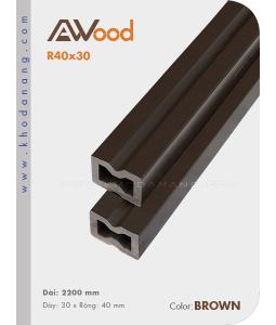 Thanh đà Awood R40x30
