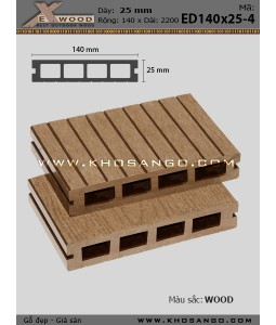 Sàn gỗ Exwood ED140x25-4-wood