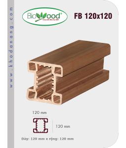 Hàng rào Biowood FB120x120