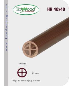 Tay vịn Biowood HR40x40