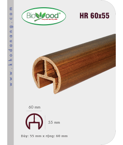 Tay vịn Biowood HR60x55