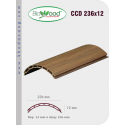 Thanh ốp cột Biowood CCD 236x12