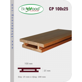 Thanh ốp cột Biowood CP 100x25