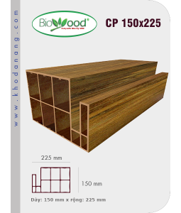 Thanh cột Biowood CP 150x225
