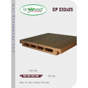 Thanh ốp cột Biowood CP 232x25