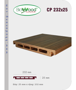 Thanh ốp cột Biowood CP 232x25
