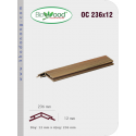 Thanh ốp cột Biowood OC 236x12
