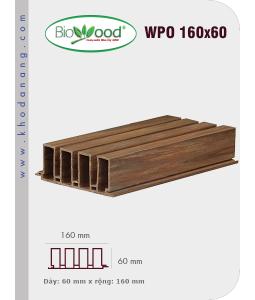 Ốp tường Biowood (hệ dầy) WPO 160x60