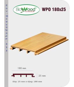 Ốp tường Biowood (hệ dầy) WPO 180x25