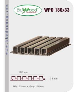 Ốp tường Biowood (hệ dầy) WPO 180x33