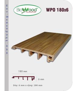 Ốp tường Biowood (hệ dầy) WPO 180x6