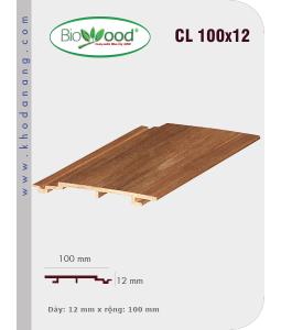 Gỗ ốp trần tường Biowood CL 100x12