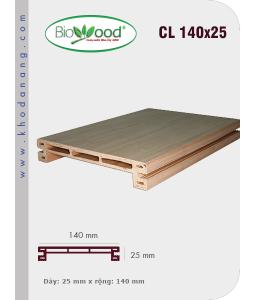 Gỗ ốp trần tường Biowood CL 140x25