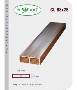 Gỗ ốp trần tường Biowood CL 68x25