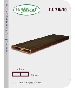 Gỗ ốp trần tường Biowood CL 70x10