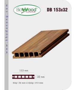 Sàn gỗ Biowood DB 153x32
