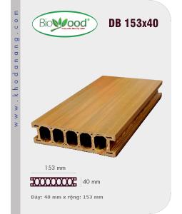 Sàn gỗ Biowood DB 153x40