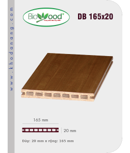 Sàn gỗ Biowood DB 165x20