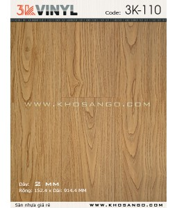 Sàn nhựa 3K Vinyl K110