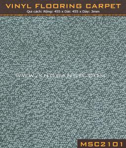 Sàn nhựa vân thảm MSC 2101