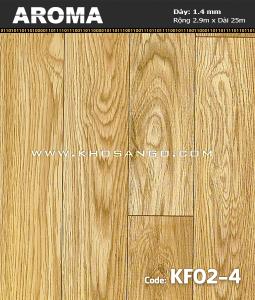 Sàn nhựa cuộn Aroma KF02-4