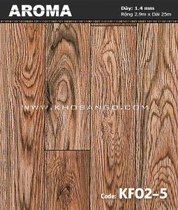 Sàn nhựa cuộn Aroma KF02-5