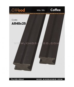 AWood AR40x25 Coffee