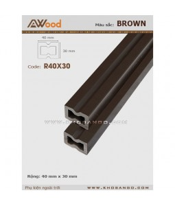 AWood AR40x30 Coffee