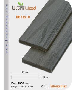 UltrAWood UB71x10 Silvery Grey