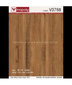 Sàn nhựa hèm khóa Vinapoly V3768