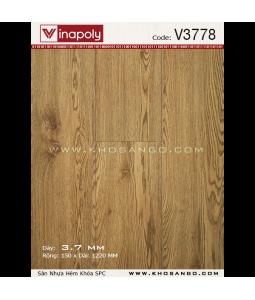 Sàn nhựa hèm khóa Vinapoly V3778