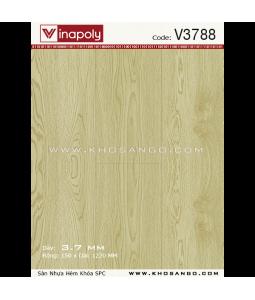 Sàn nhựa hèm khóa Vinapoly V3788