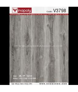 Sàn nhựa hèm khóa Vinapoly V3798