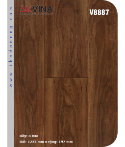 Sàn gỗ Công nghiệp 3K VINA V8887