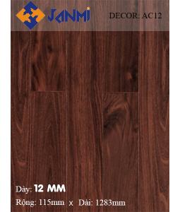 Sàn gỗ JANMI AC12 12mm